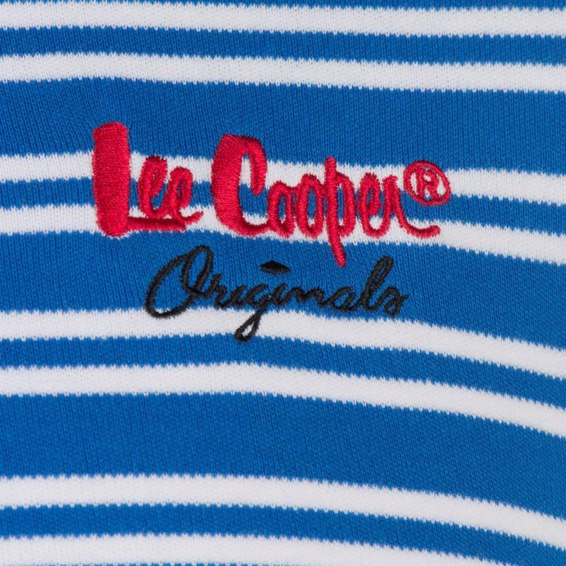 Lee Cooper Interlock Polo Shirt Mens Blue