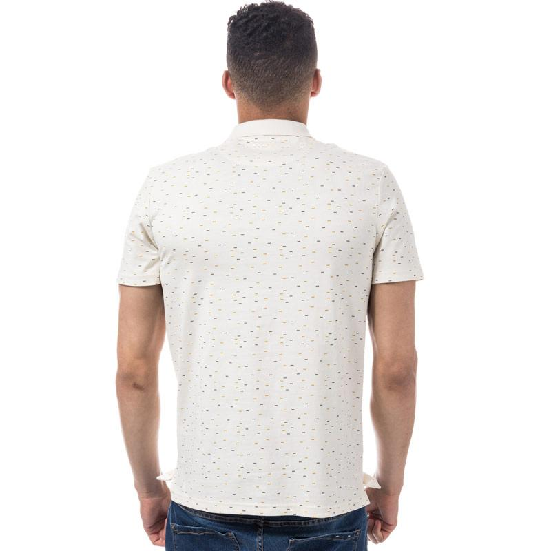 Lyle And Scott Mens Fil Coupe Polo Shirt Off White