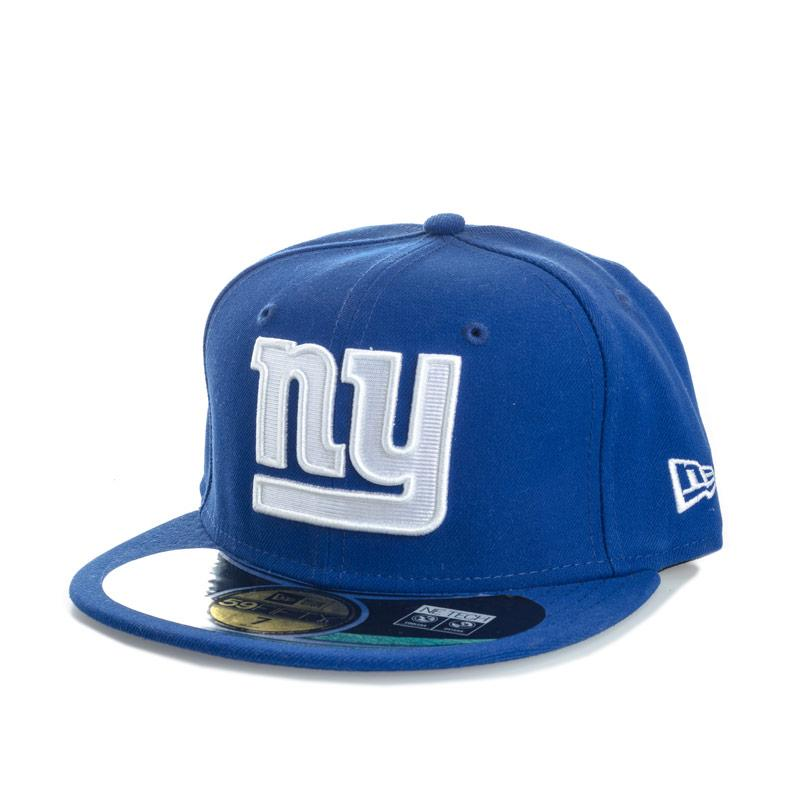 New Era Mens Onfield New York Giants 59fifty Cap Blue