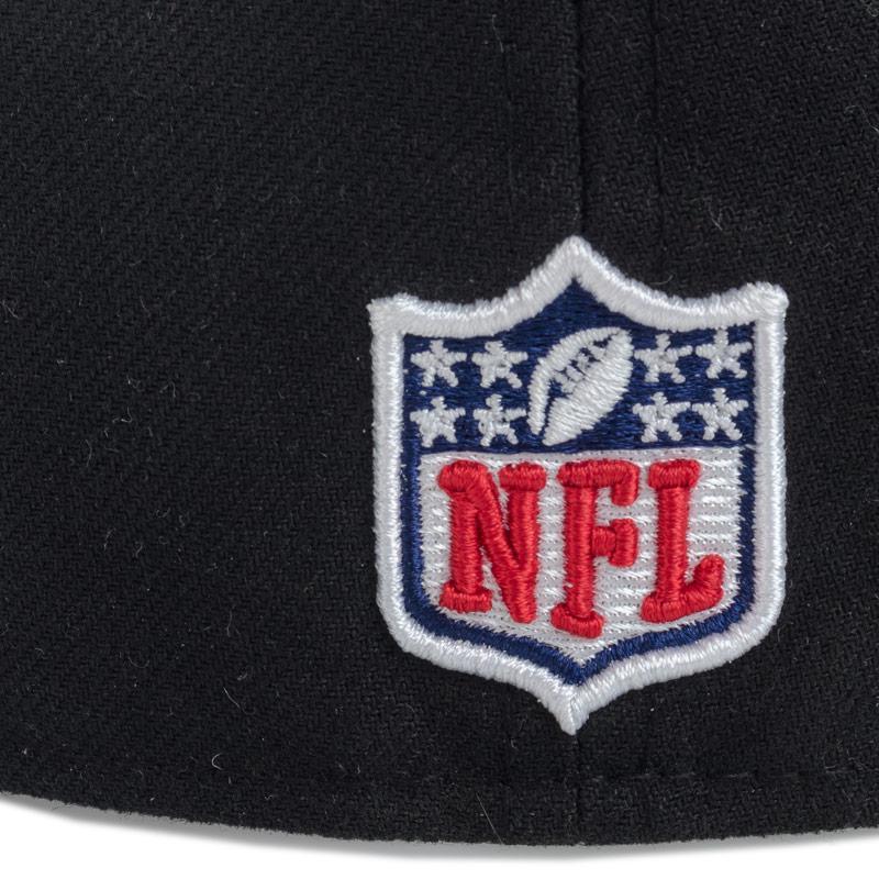 New Era Mens Onfield Oakland Raiders 59fifty Cap Black