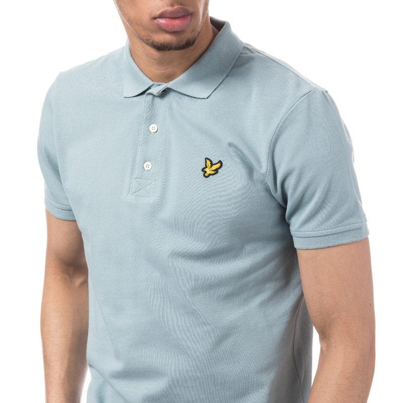 Lyle And Scott Mens Polo Shirt Blue