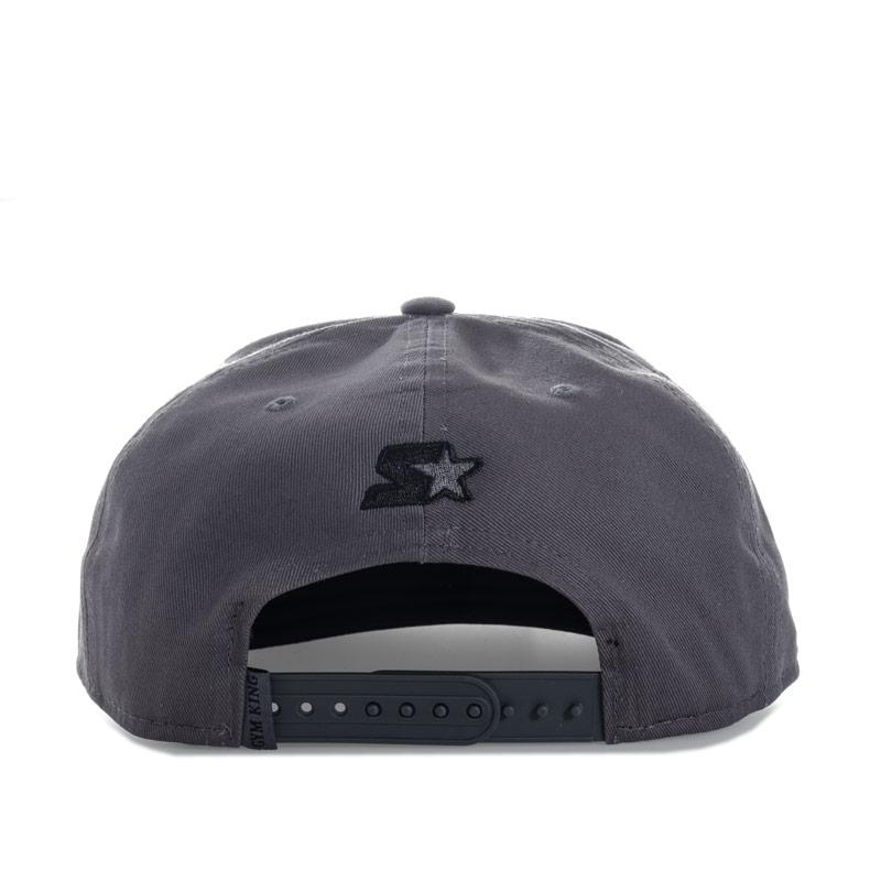 Gym King Mens Snapback Cap Grey