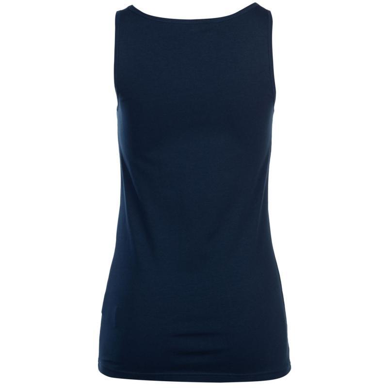 Miso Tank Vest Ladies Charcoal Marl