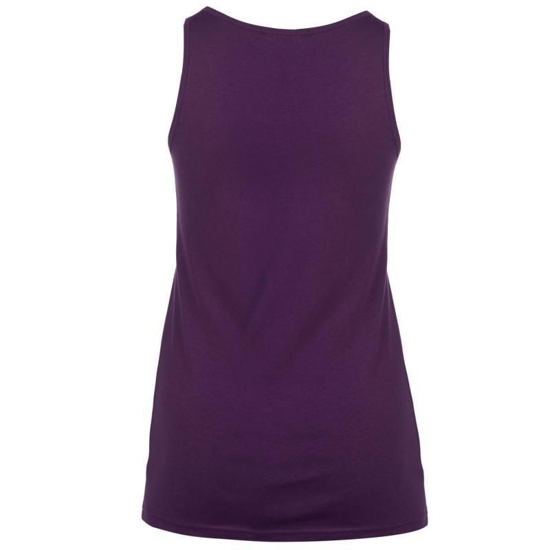 Miso Tank Vest Ladies Purple