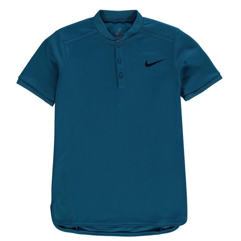 Nike Advance Polo Shirt Junior Boys Green