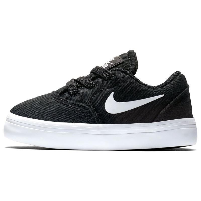 Boty Nike SB Check Canvas Shoes Infant Boys Black/White