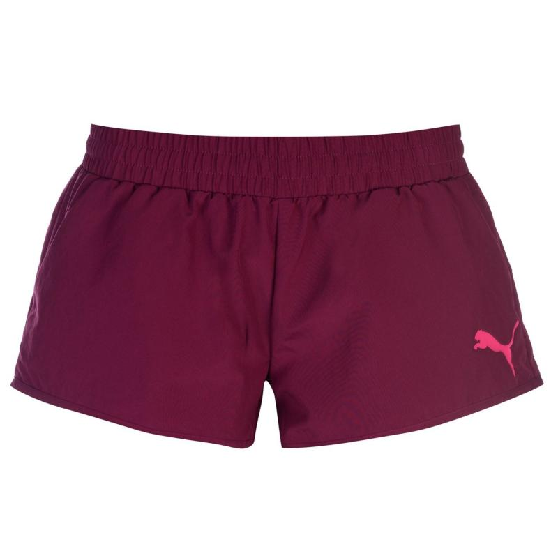 Puma Woven Shorts Ladies Purple