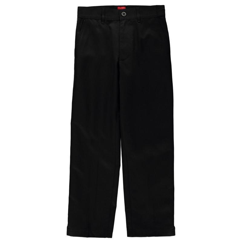Kalhoty Slazenger Golf Trousers Junior Boys Black