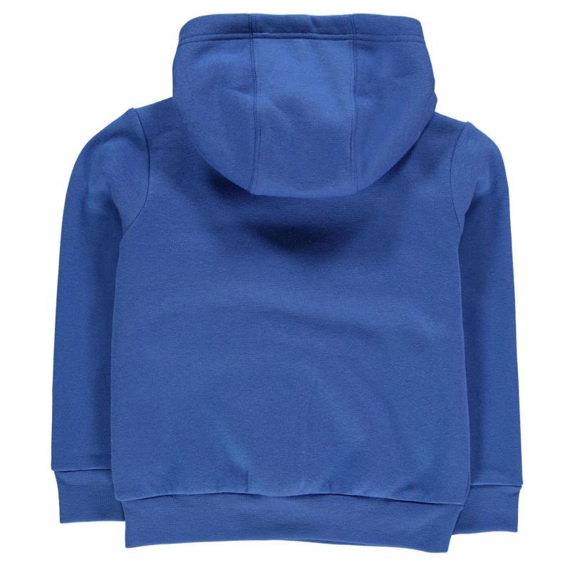 Mikina Slazenger Over The Head Fleece Hoody Infant Boys Light Blue