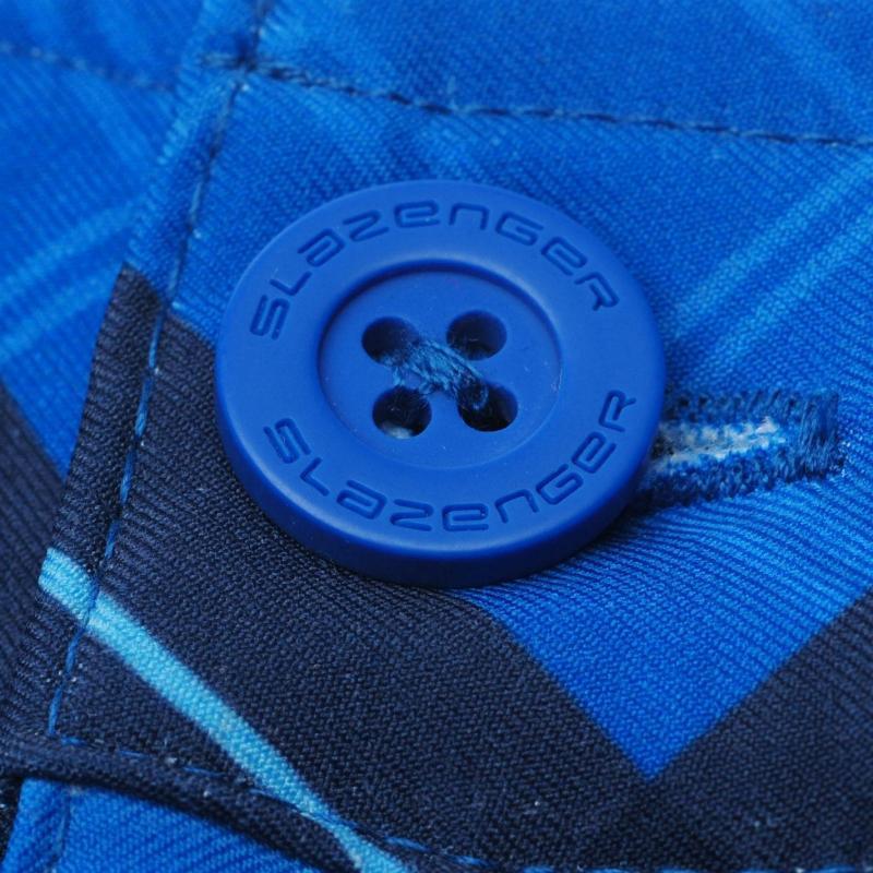Kalhoty Slazenger Print Golf Trousers Mens Navy/Blue