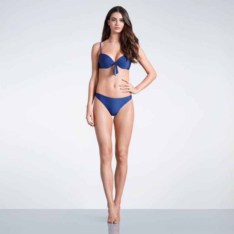 Plavky SoulCal High Leg Bikini Bottoms Ladies Navy