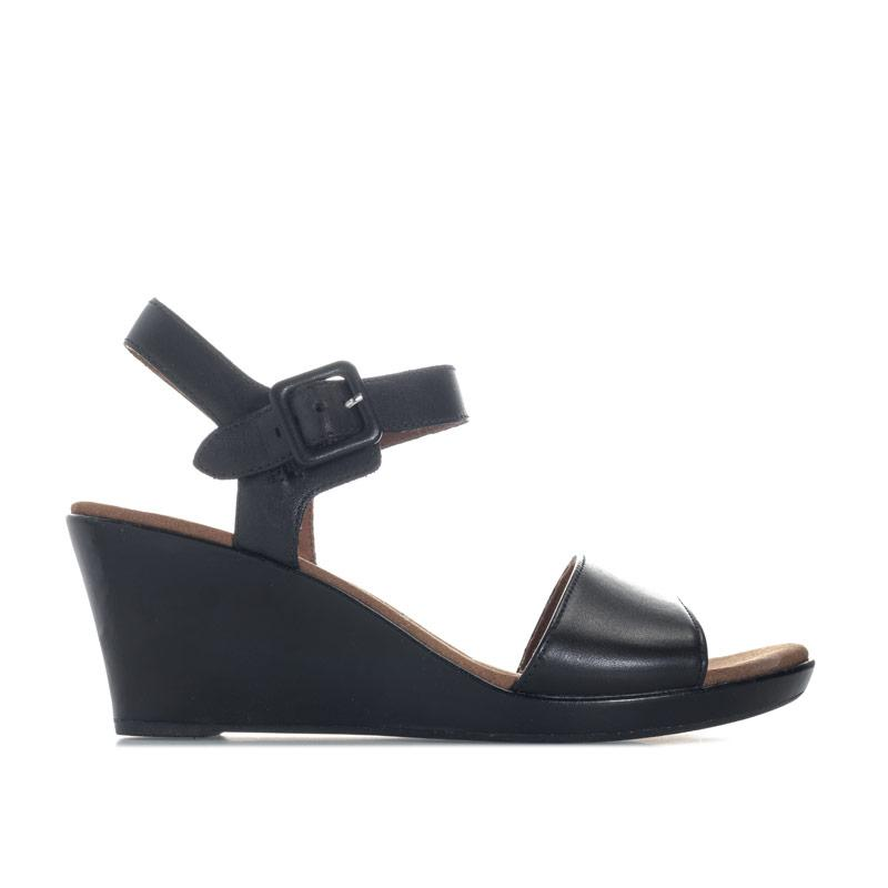 Rockport Womens Briah Quarter Strap Sandals Black