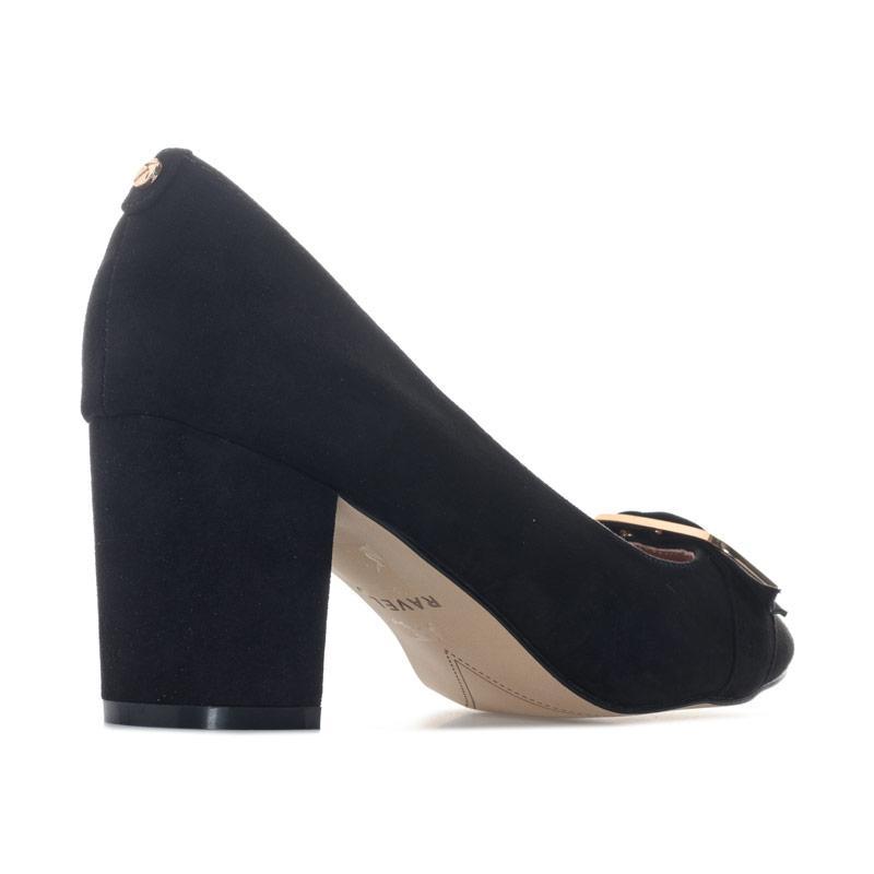 Ravel Womens Hingham Block Heeled Court Shoes Black