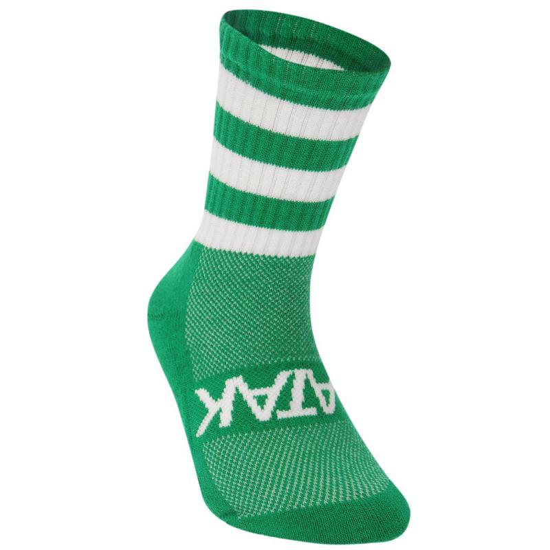 Ponožky Atak GAA Half Leg Football Socks Green/White