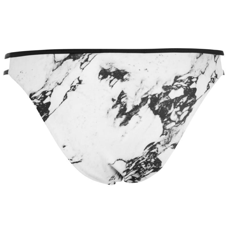 Plavky Firetrap Strap Bikini Briefs Khaki