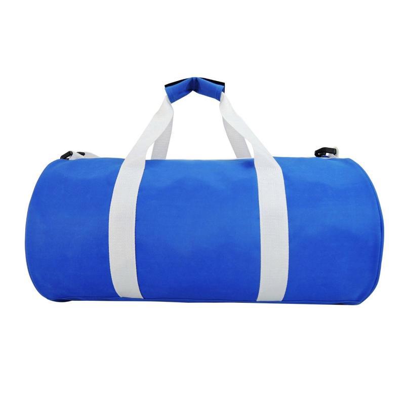 Lonsdale Barrel Bag Blue/White