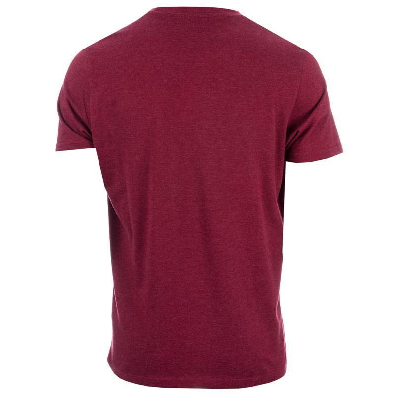 Tričko Ben Sherman Mens Target Logo T-Shirt wine