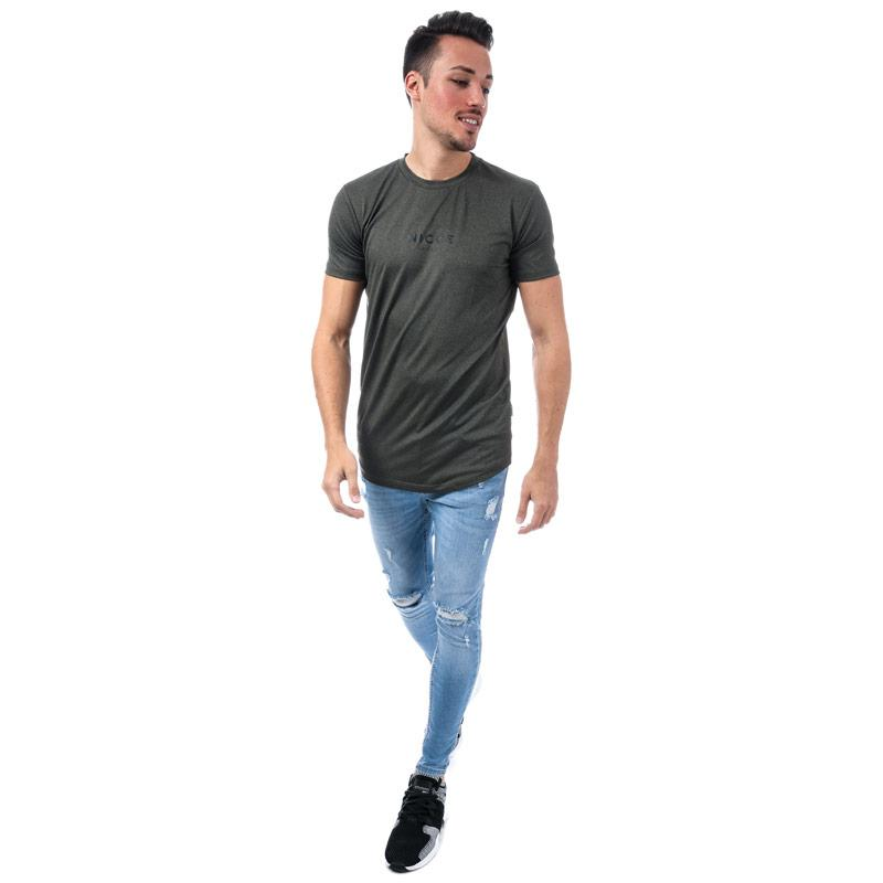 Tričko NICCE Mens Tech T-Shirt Khaki