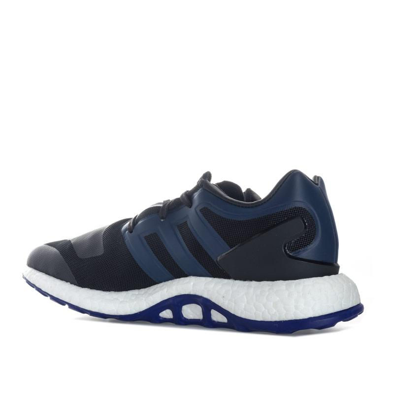 Mens Y-3 Pure Boost Trainers black blue