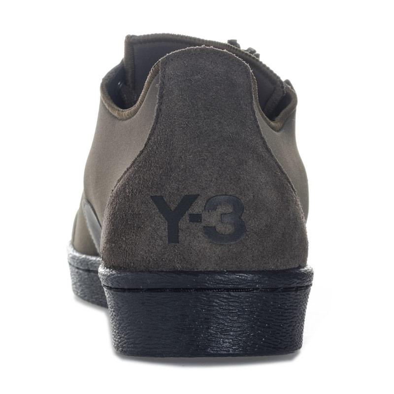 Mens Y-3 Super Zip Black