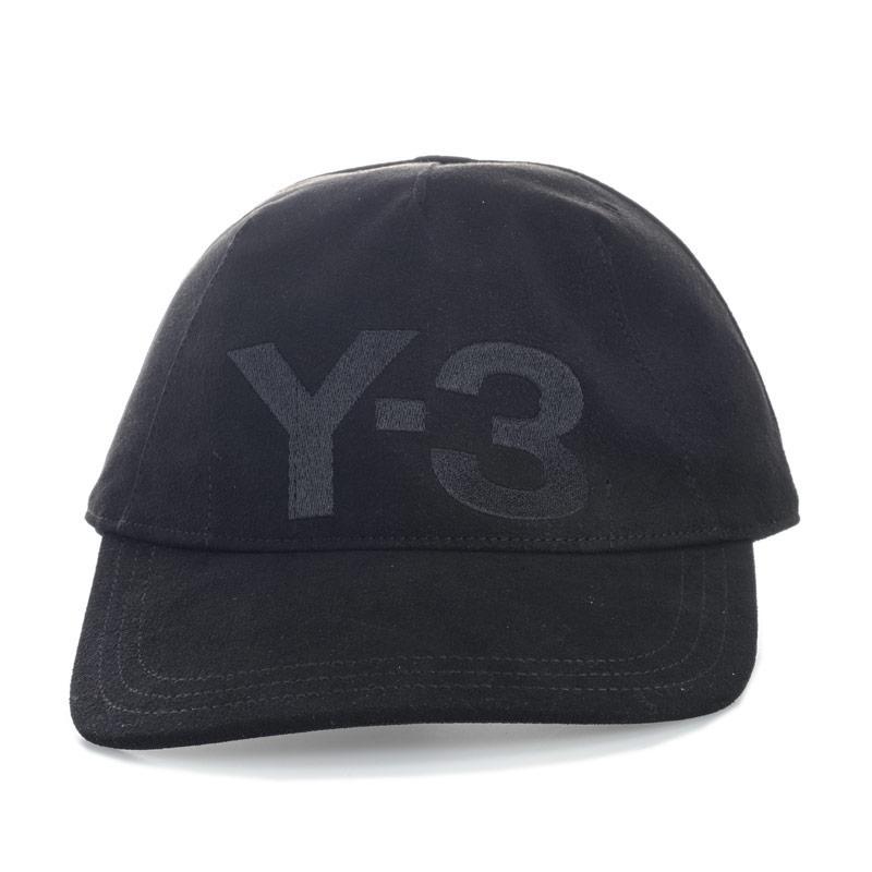 Mens Y-3 Unconstructed Cap Black