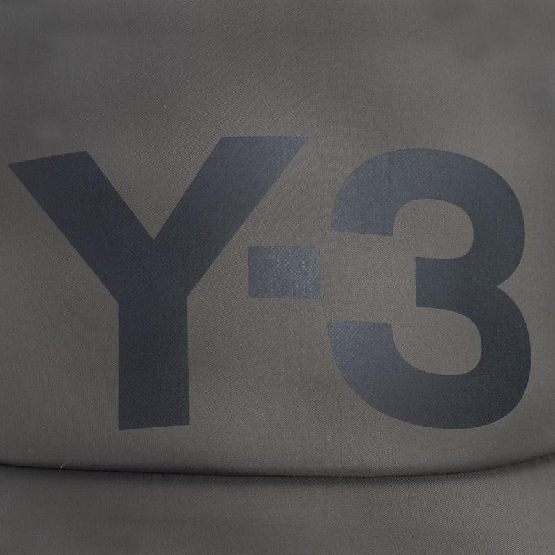 Y-3 Mens Y3 Nylon Cap olive