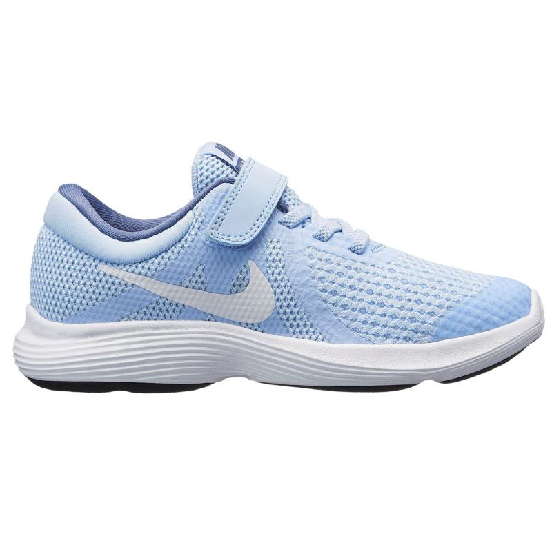 Nike Revolution 4 Trainers Child Girls Royal/White