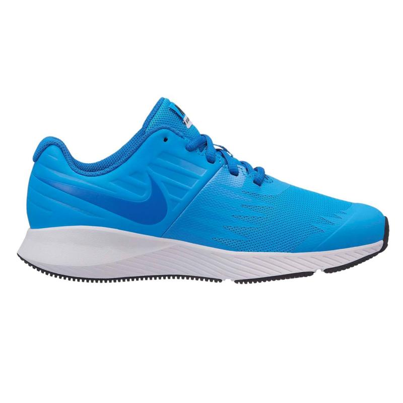 Boty Nike Star Runner Trainers Junior Boys Grey/Red