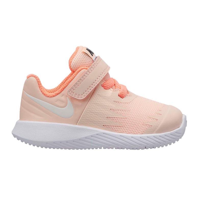Nike Star Runners Infant Girls Platinum/Royal