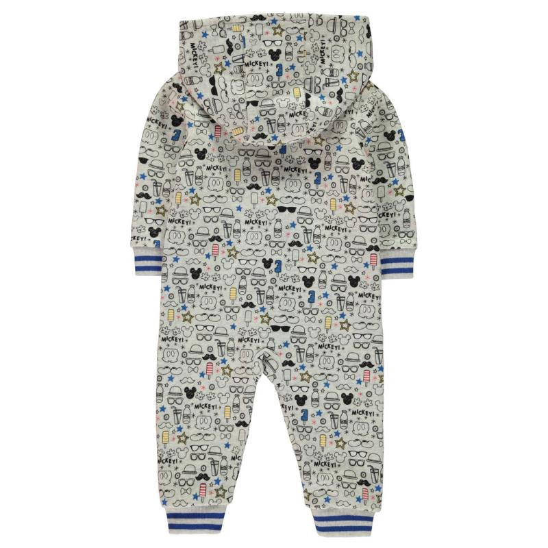 Pyžamo Disney Fleece Onesie Baby Boys Mickey Mouse