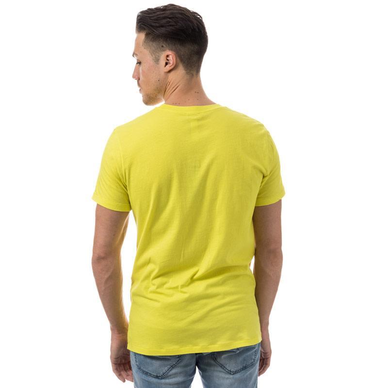 Tričko Diesel Mens Beachwear Parsen T-Shirt Yellow