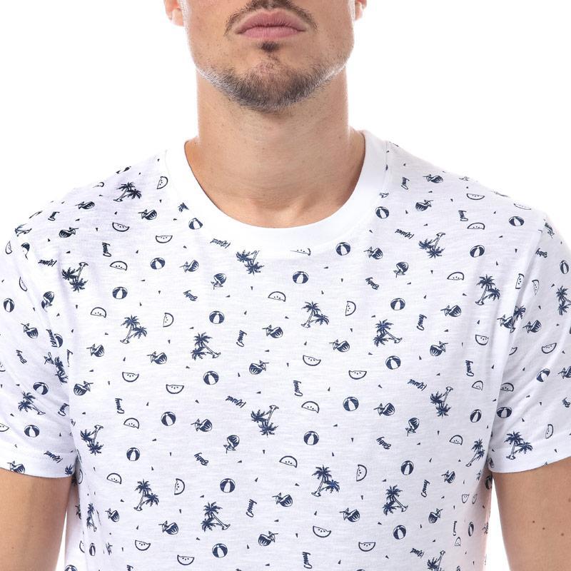 Tričko D-Struct Mens Billet T-Shirt Navy