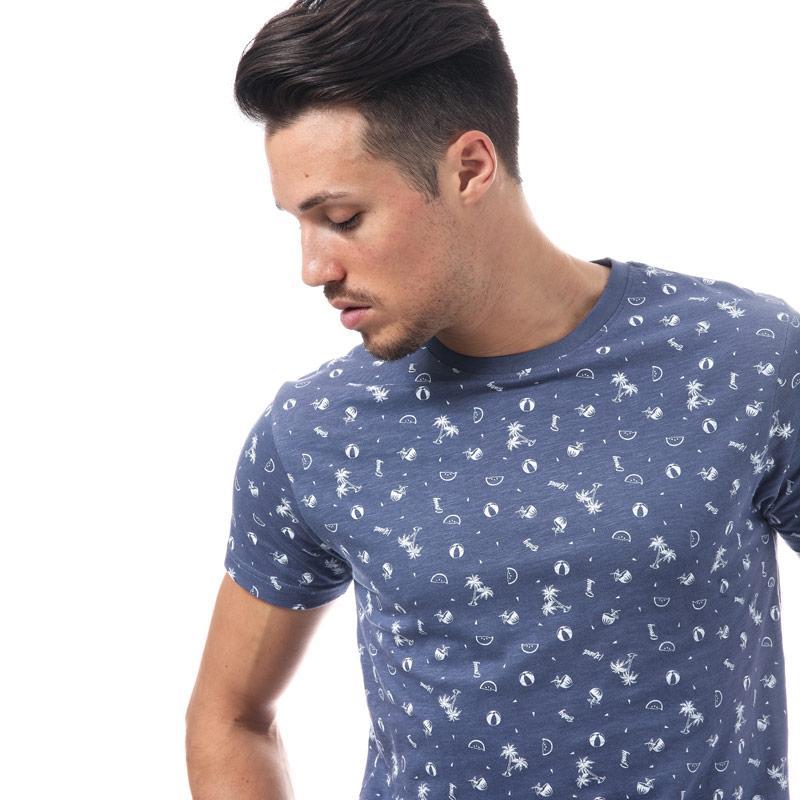 Tričko D-Struct Mens Billet T-Shirt White