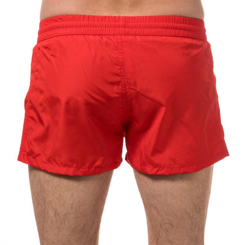 Diesel Mens Bmbx Sandy E Swim Shorts Red