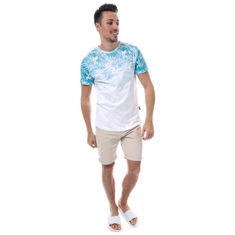 Tričko D-Struct Mens Kape Sub T-Shirt White