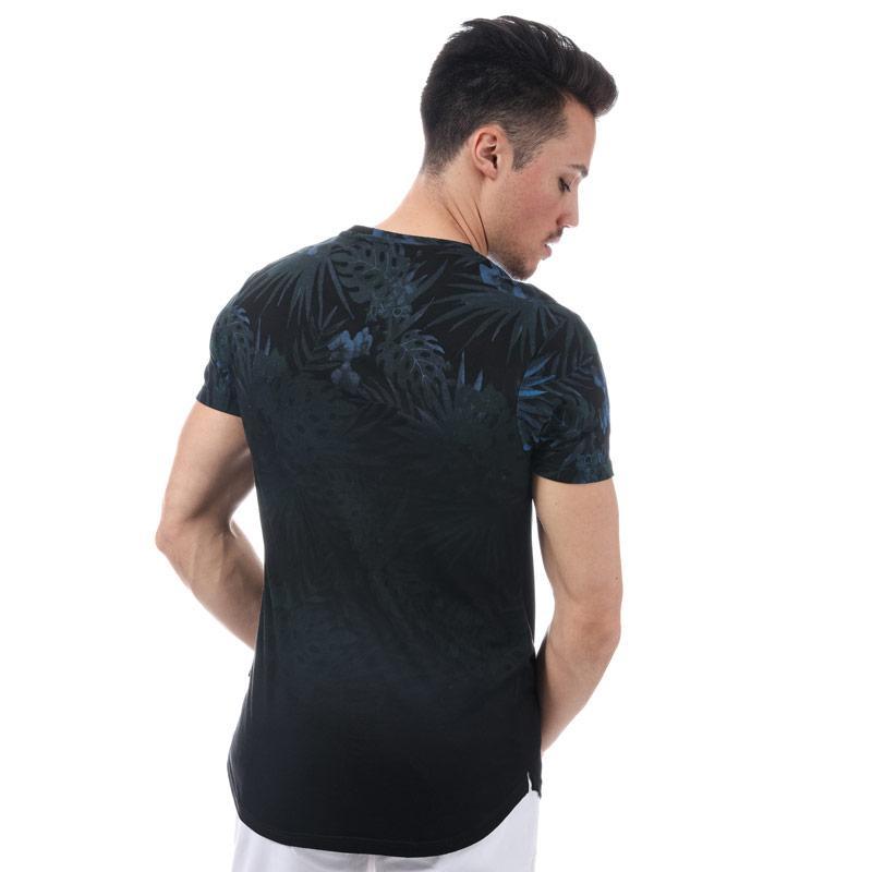 Tričko D-Struct Mens Kape Sub T-Shirt Black