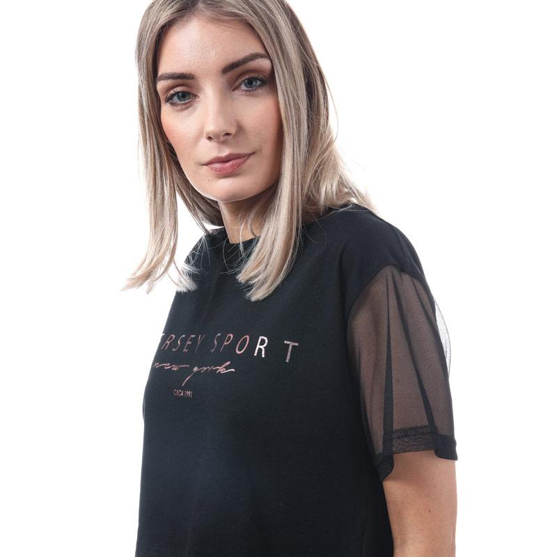Beck And Hersey Womens Stock T-Shirt Black