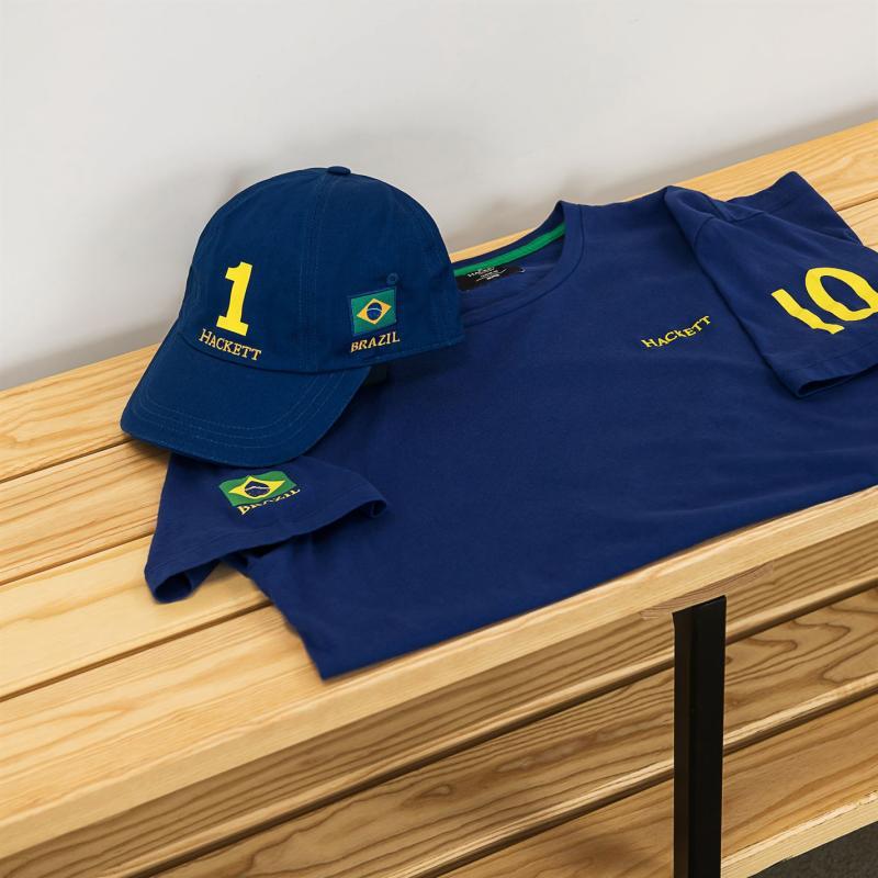 Tričko Hackett World Cup T Shirt Brazil