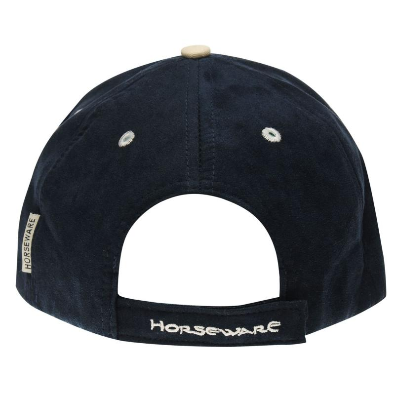 Horseware Polo Baseball Cap Ladies Black Iris