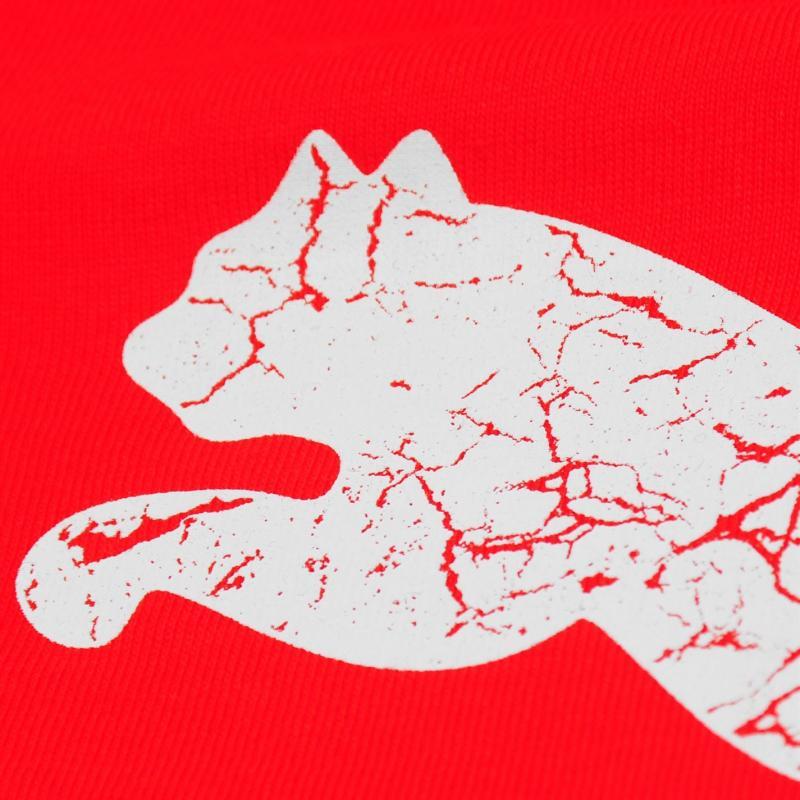 Tričko Puma Big Cat T Shirt Infant Boys Red/White