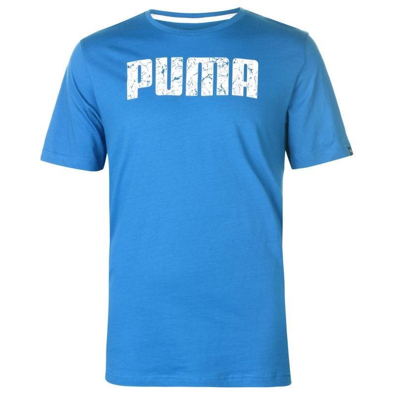 Tričko Puma No1 Logo T Shirt Mens Turkish Sea
