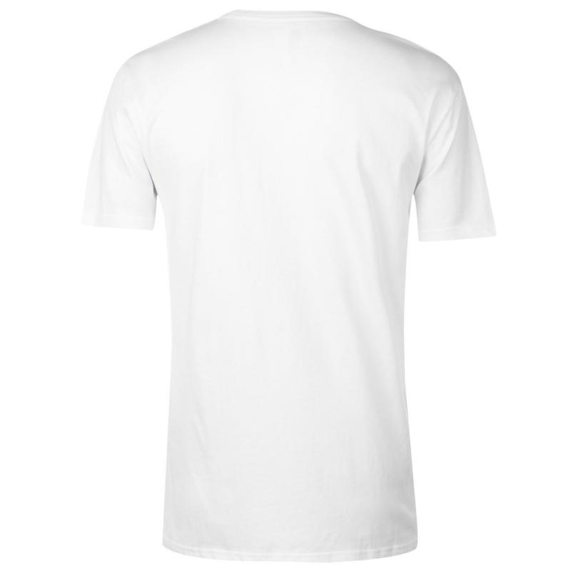 Tričko Quiksilver Heatwave T Shirt Mens White
