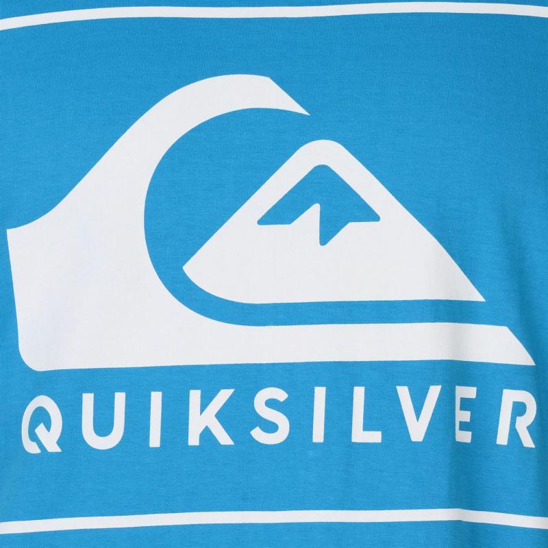 Tričko Quiksilver Heatwave T Shirt Mens Atomic Blue