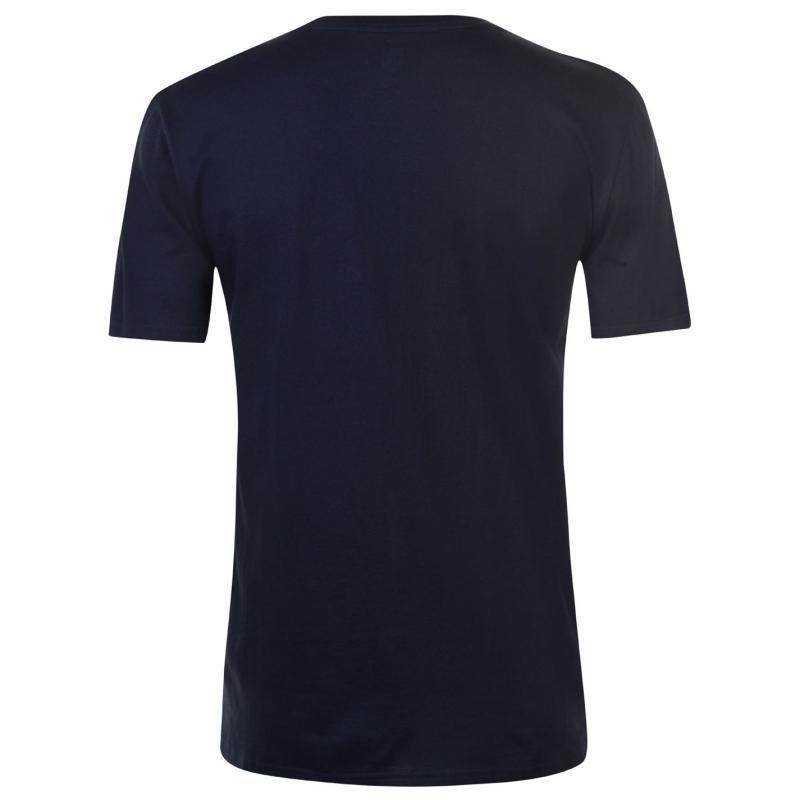 Tričko Quiksilver Midnight Co T Shirt Mens White