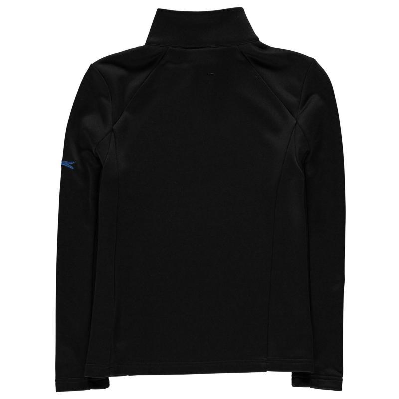 Bunda Slazenger Zip Pullover Junior Boys Black