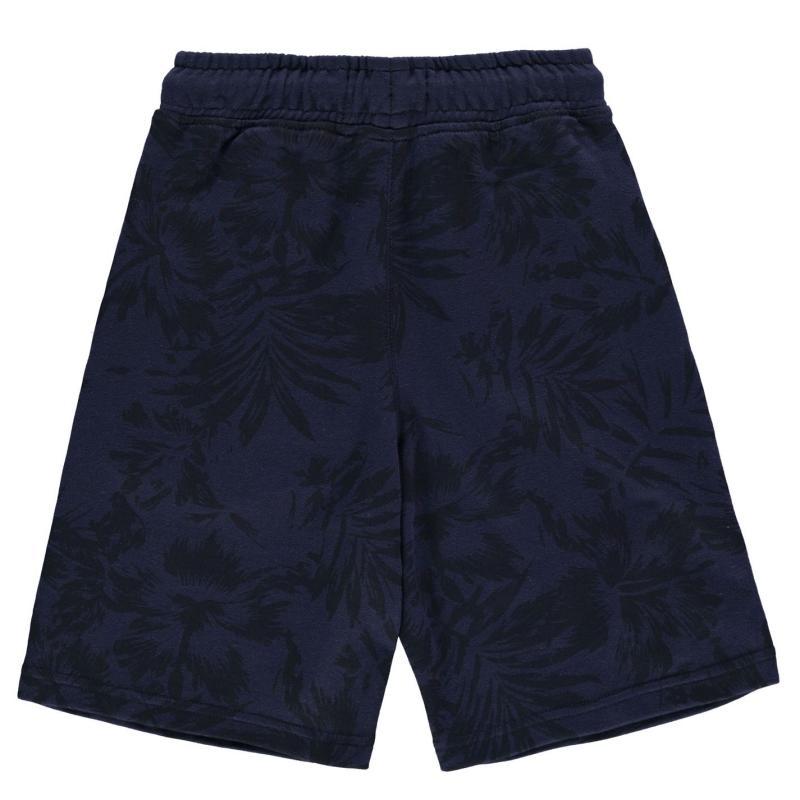Kraťasy SoulCal AOP Shorts Junior Boys Navy AOP