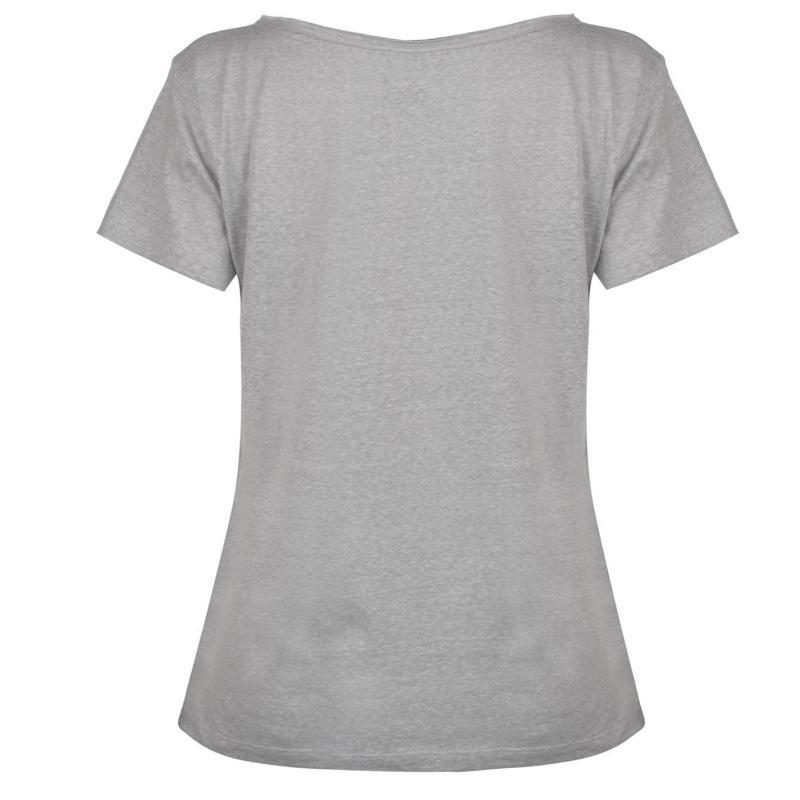 Gul Slouch T Shirt Ladies Grey Marl