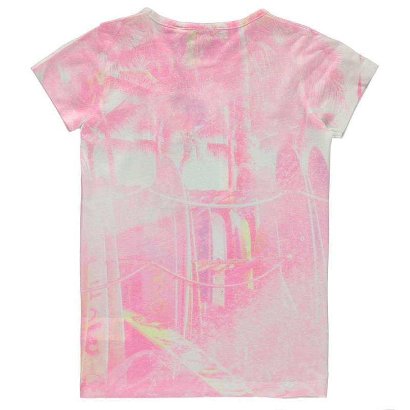 Hot Tuna Sublimation T Shirt Junior Girls Water
