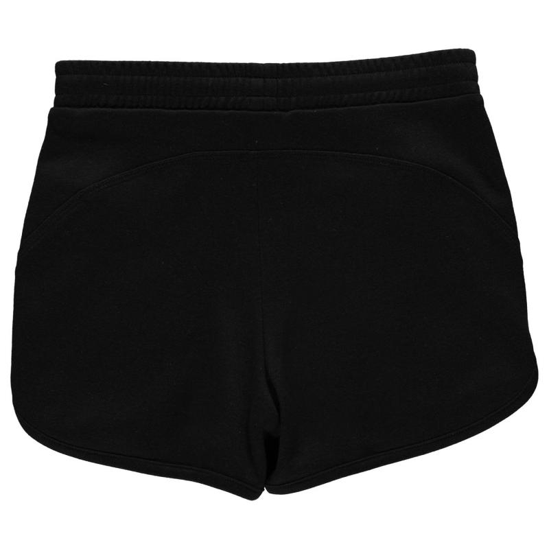 LA Gear Interlock Shorts Junior Girls Black