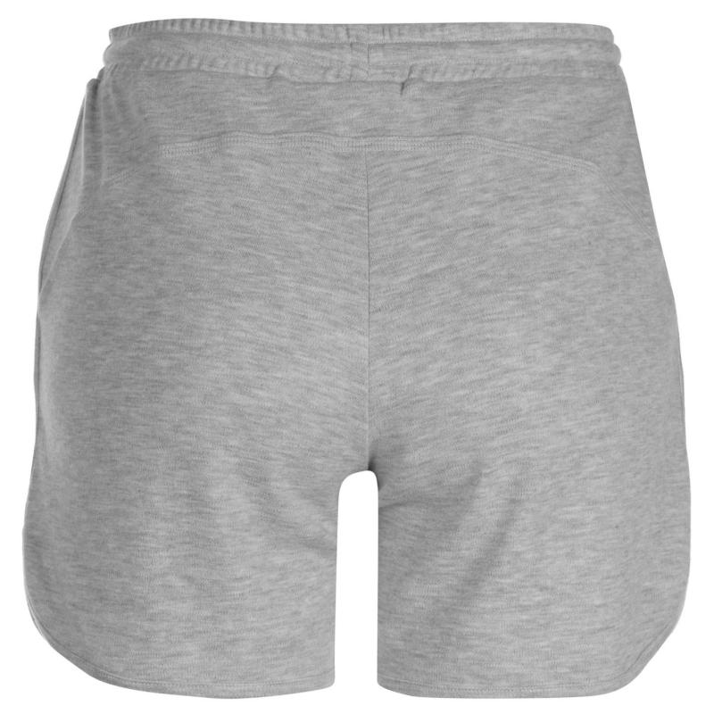 LA Gear Interlock Shorts Ladies Grey Marl